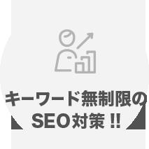 キーワード無制限の SEO対策!!