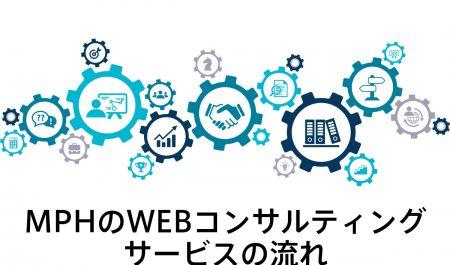 WEBコンサルティングサービスの流れ
